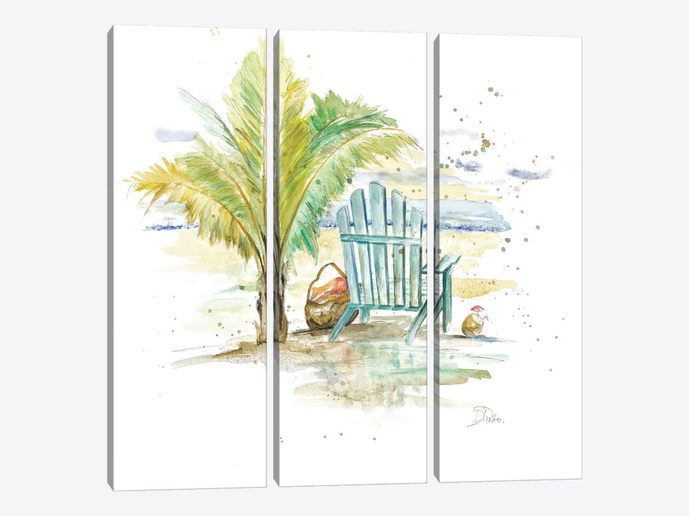 Happy Place II by Patricia Pinto 3-piece Canvas Art
