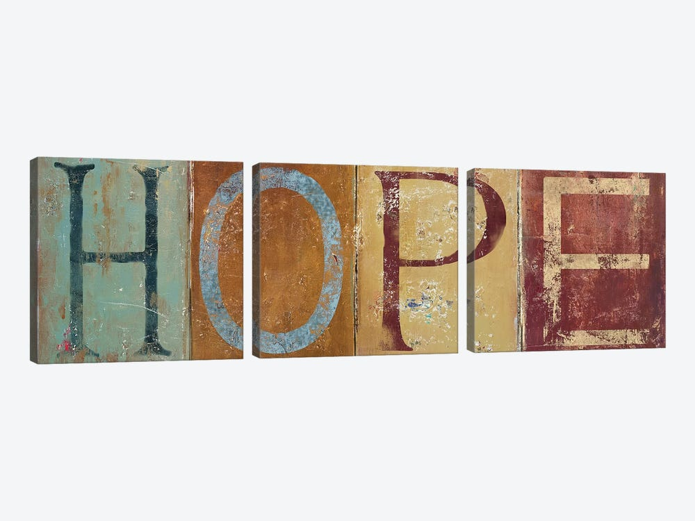 HOPE by Patricia Pinto 3-piece Art Print