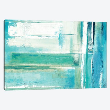 House 52 Blue Canvas Print #PPI171} by Patricia Pinto Canvas Artwork