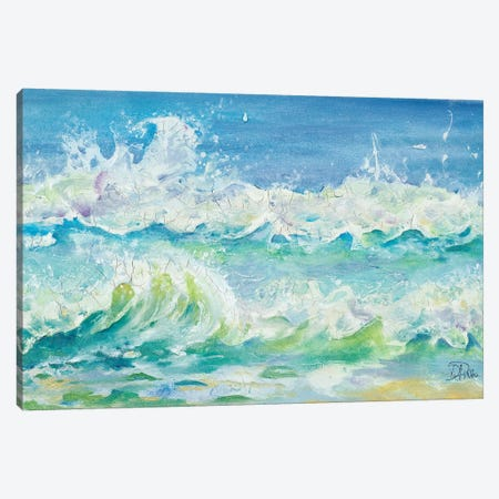 Las Olas Canvas Print #PPI178} by Patricia Pinto Canvas Artwork
