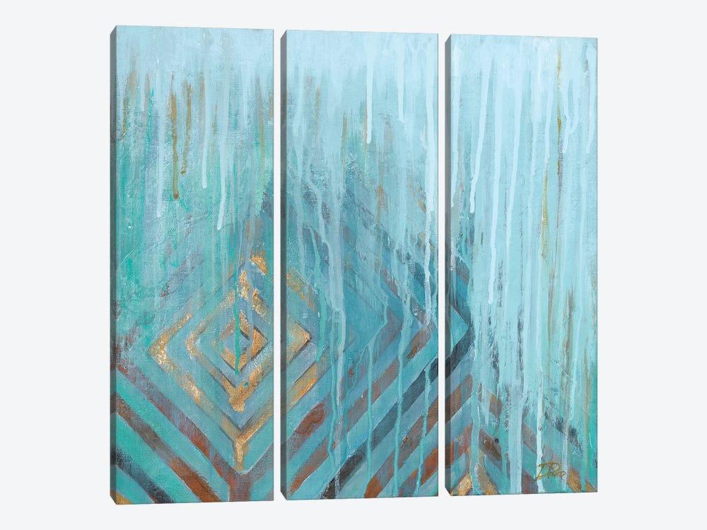 Lluvia by Patricia Pinto 3-piece Canvas Art Print