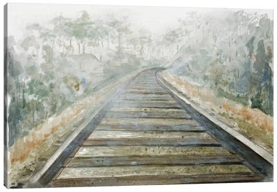 Long Wait Canvas Art Print
