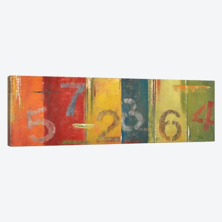 Lucky Numbers I Canvas Print #PPI186} by Patricia Pinto Canvas Artwork