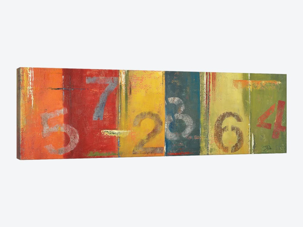 Lucky Numbers I by Patricia Pinto 1-piece Canvas Artwork