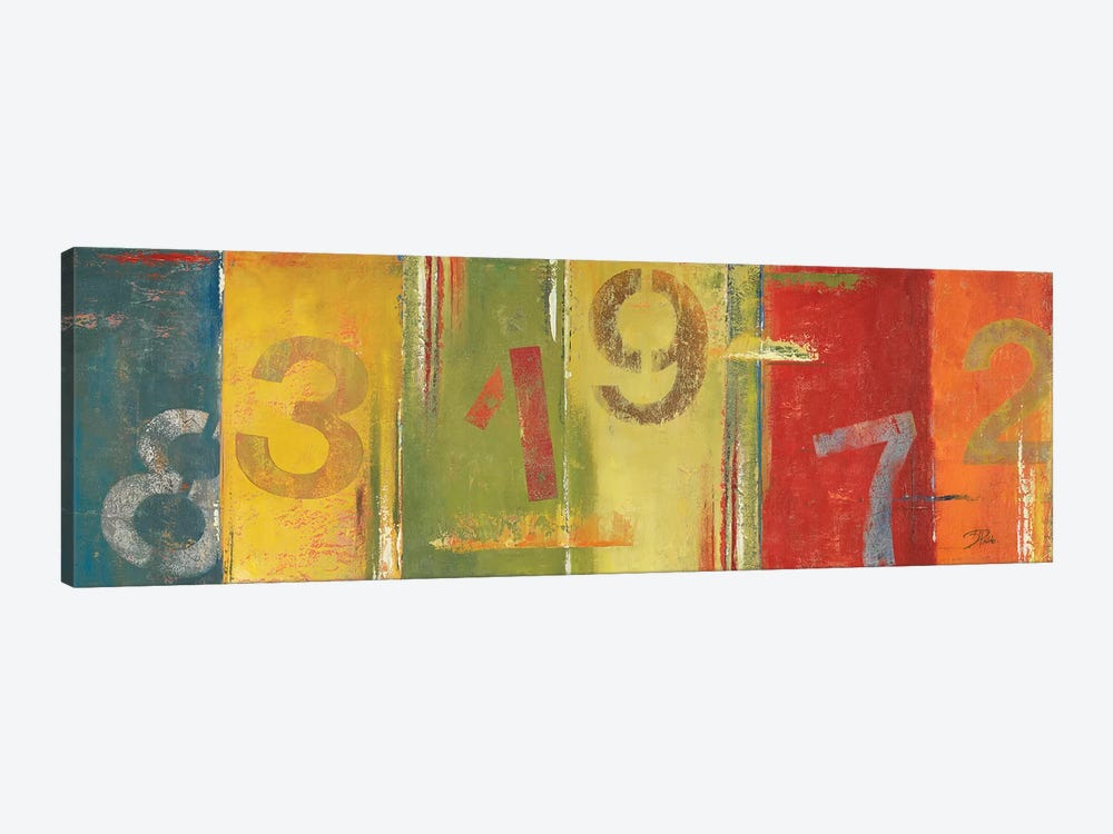 Lucky Numbers II by Patricia Pinto 1-piece Canvas Art Print