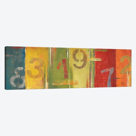 Lucky Numbers II Canvas Print #PPI187} by Patricia Pinto Canvas Artwork