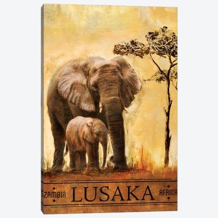 Lusaka Canvas Print #PPI188} by Patricia Pinto Art Print