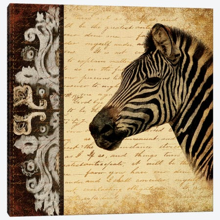 Madagascar Safari II Canvas Print #PPI190} by Patricia Pinto Canvas Wall Art