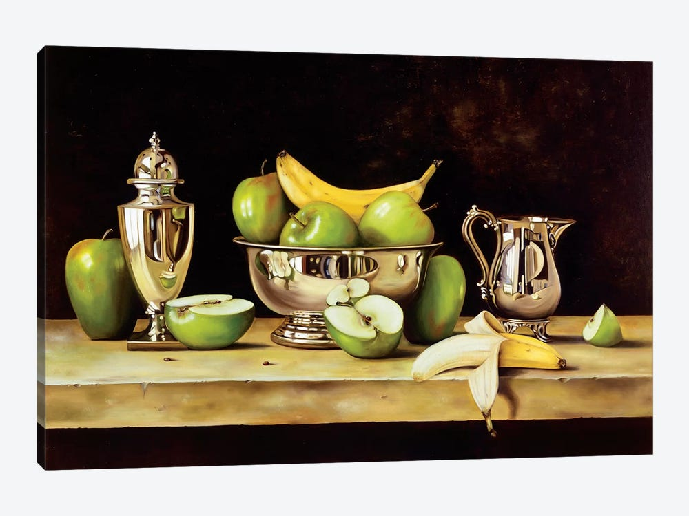 Manzanas by Patricia Pinto 1-piece Canvas Print