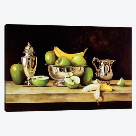 Manzanas Canvas Print #PPI194} by Patricia Pinto Art Print