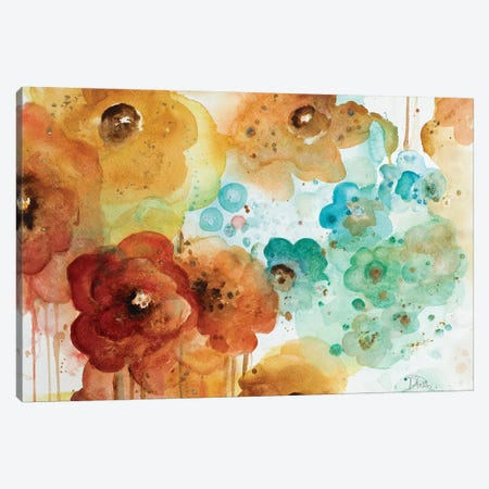 Mis Flores I Canvas Print #PPI197} by Patricia Pinto Canvas Print