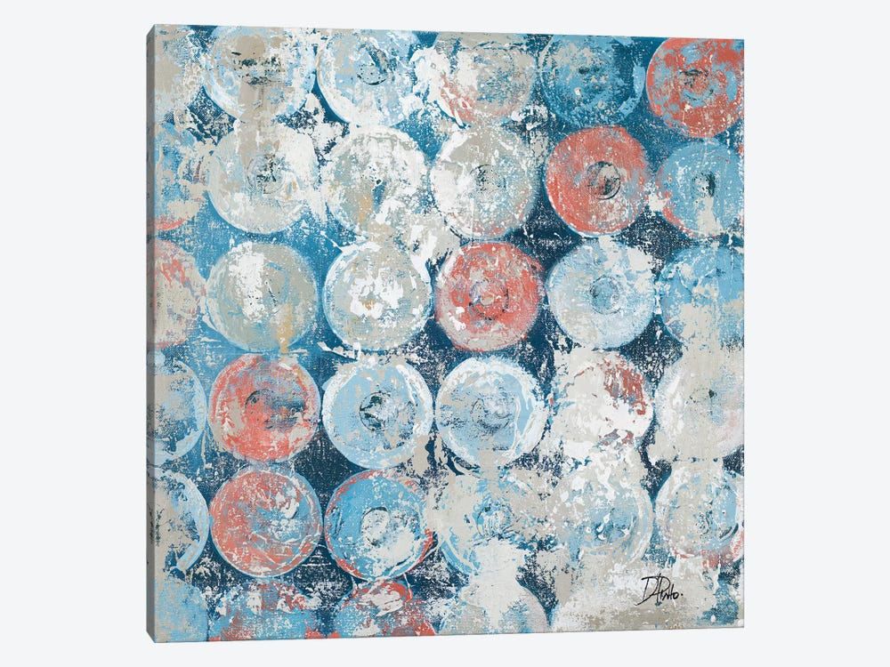 Antique Decorative Circles by Patricia Pinto 1-piece Canvas Artwork