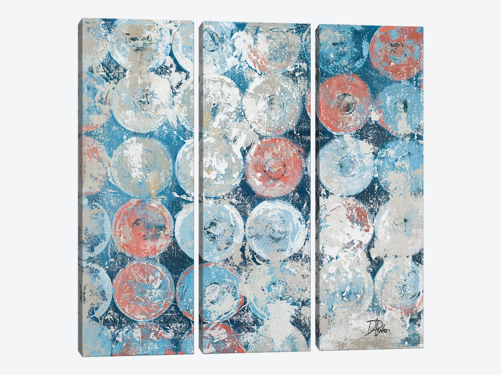 Antique Decorative Circles by Patricia Pinto 3-piece Canvas Artwork