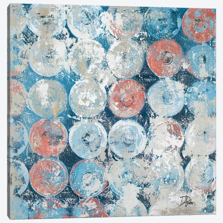 Antique Decorative Circles Canvas Print #PPI19} by Patricia Pinto Canvas Art