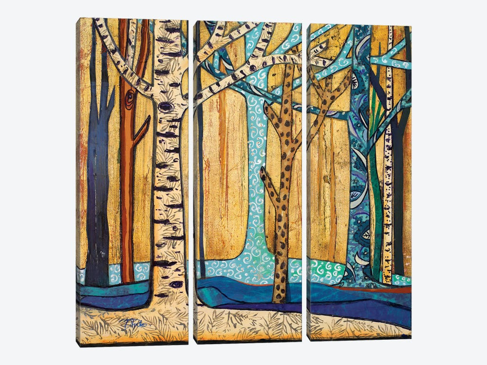 Mother Nature I by Patricia Pinto 3-piece Canvas Print