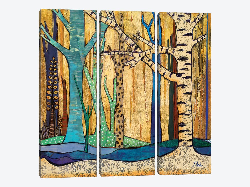 Mother Nature II by Patricia Pinto 3-piece Canvas Wall Art