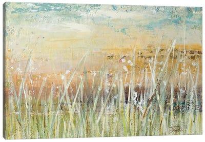 Muted Grass Canvas Art Print
