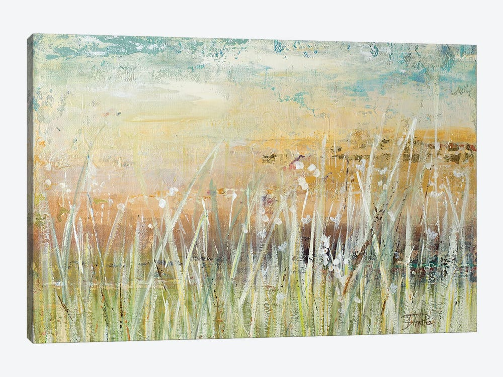 Muted Grass by Patricia Pinto 1-piece Canvas Print