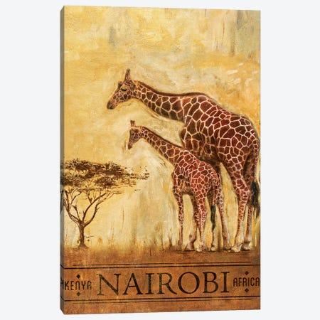 Nairobi Canvas Print #PPI205} by Patricia Pinto Art Print