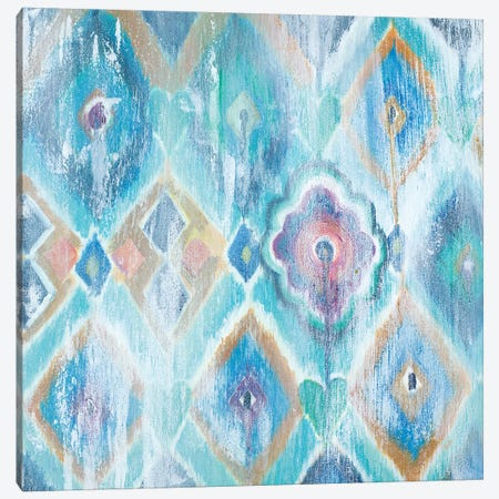 New Ikat I Canvas Print #PPI208} by Patricia Pinto Canvas Wall Art