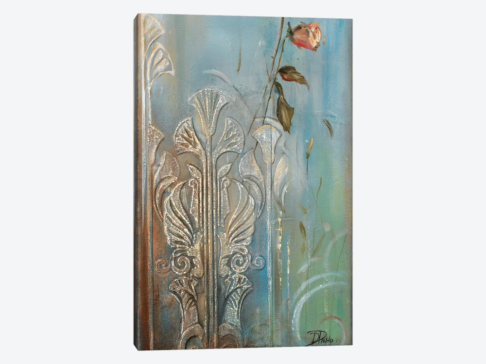 Ornaments & Roses I by Patricia Pinto 1-piece Canvas Print