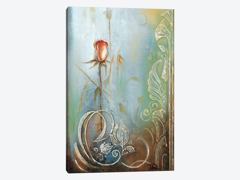 Ornaments & Roses II by Patricia Pinto 1-piece Canvas Art