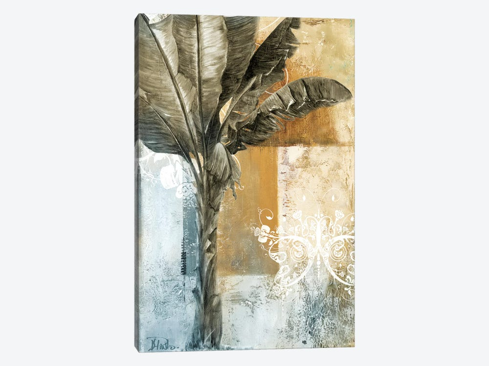 Palm & Ornament I by Patricia Pinto 1-piece Canvas Art