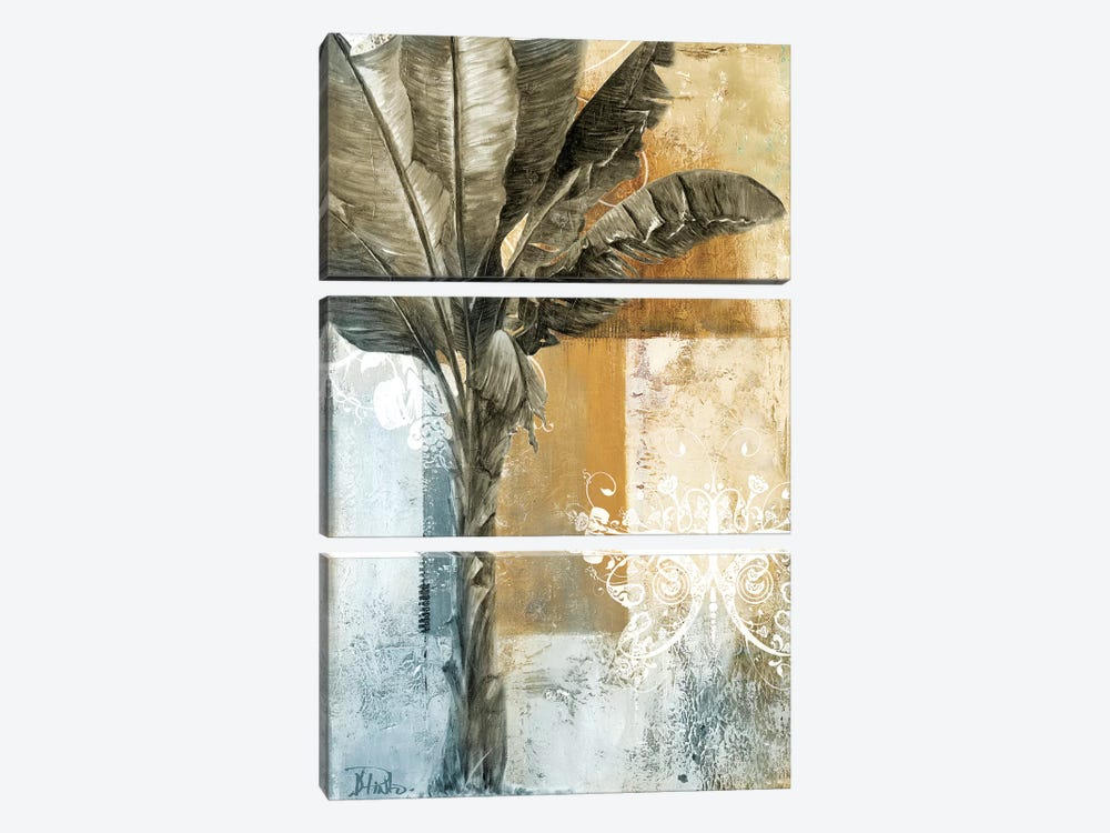 Palm & Ornament I by Patricia Pinto 3-piece Canvas Art
