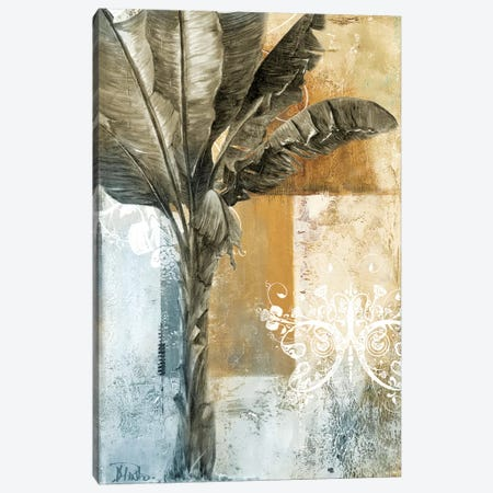 Palm & Ornament I Canvas Print #PPI220} by Patricia Pinto Canvas Wall Art