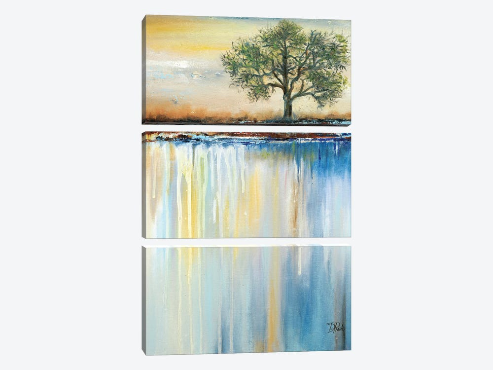 Paysage I by Patricia Pinto 3-piece Canvas Artwork