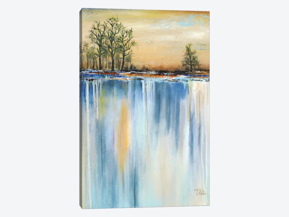 Paysage II by Patricia Pinto 1-piece Canvas Art Print