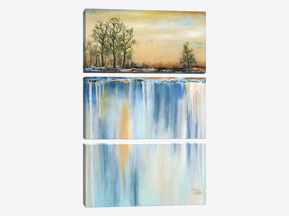 Paysage II by Patricia Pinto 3-piece Canvas Art Print