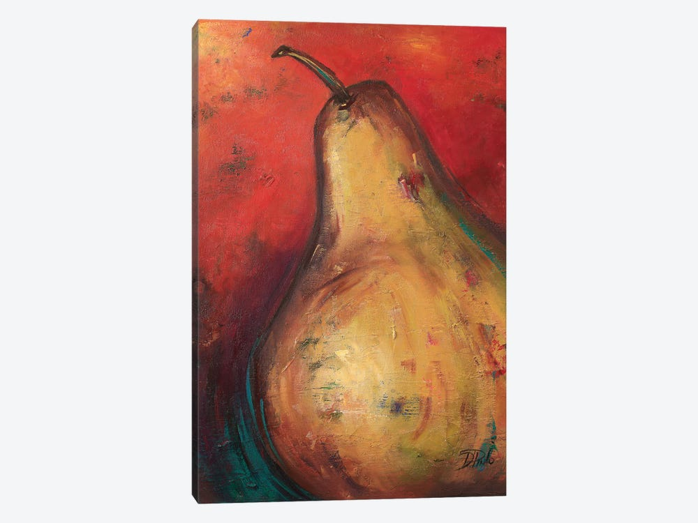Pear II by Patricia Pinto 1-piece Canvas Artwork