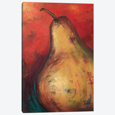 Pear II 3-Piece Canvas #PPI231} by Patricia Pinto Canvas Print