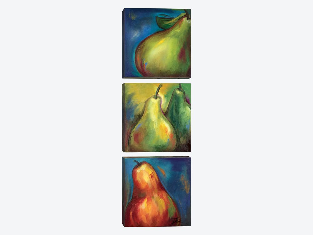 Pears 3 in 1 I by Patricia Pinto 3-piece Art Print