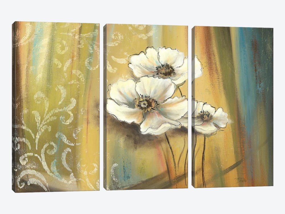 Plantation I by Patricia Pinto 3-piece Canvas Wall Art