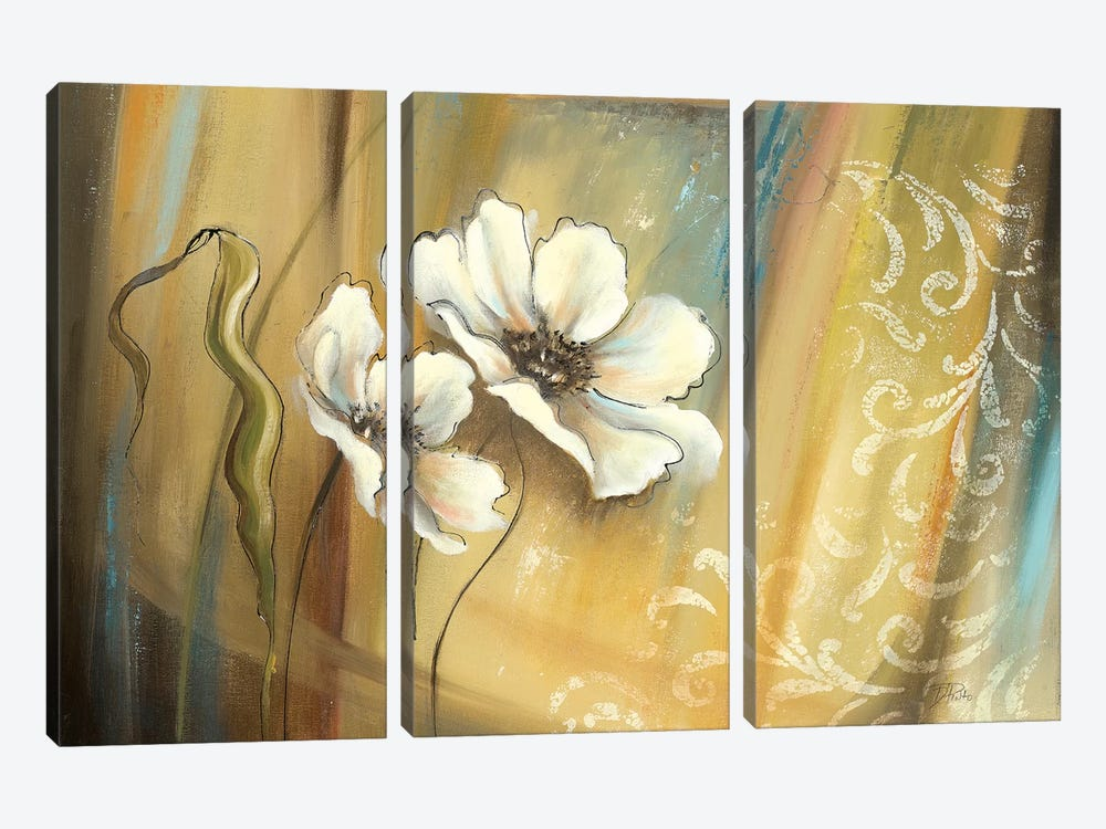 Plantation II by Patricia Pinto 3-piece Canvas Print