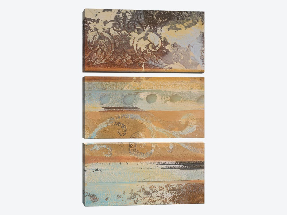 Antique Sophistication I by Patricia Pinto 3-piece Art Print
