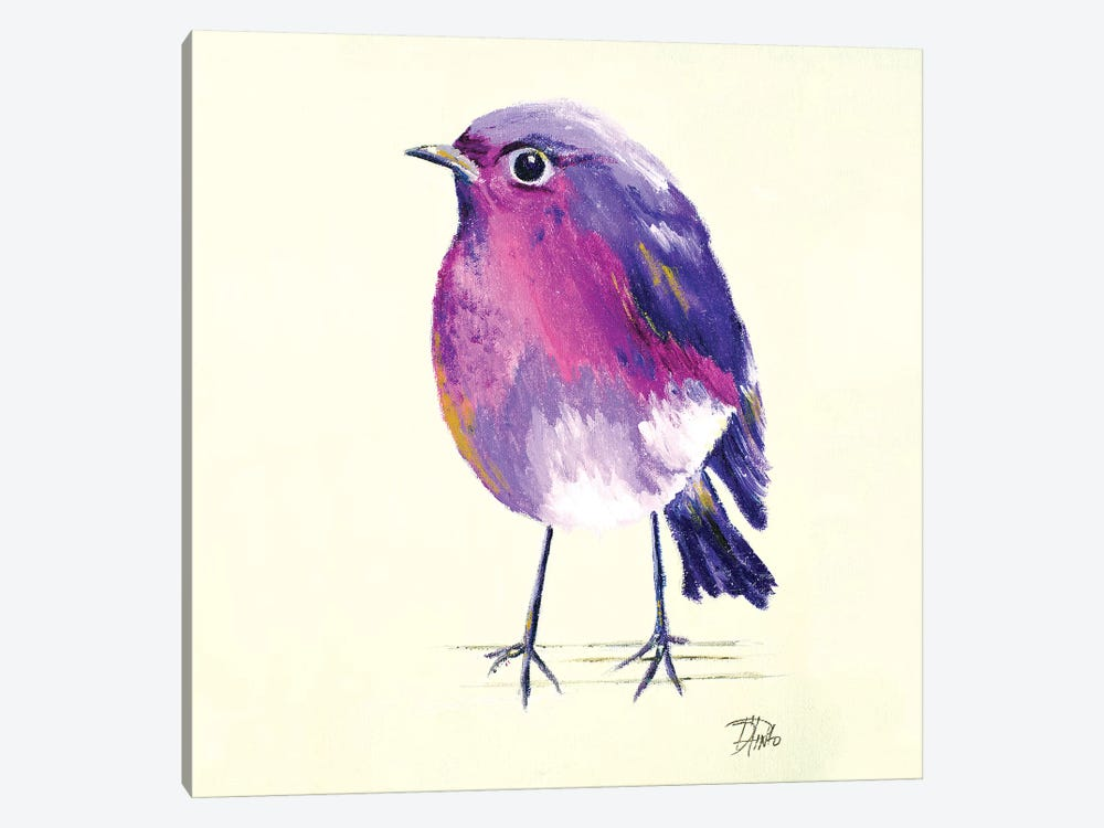 Purple Bird II by Patricia Pinto 1-piece Art Print