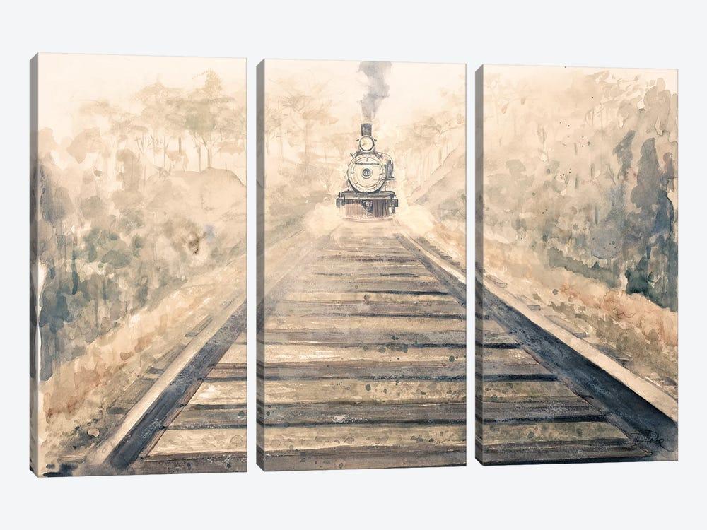 Railway Bound by Patricia Pinto 3-piece Canvas Art Print