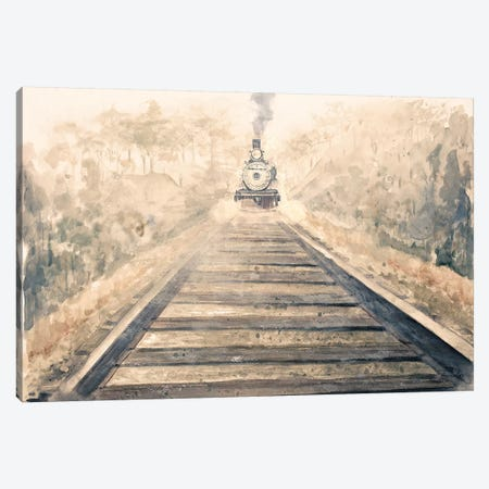 Railway Bound Canvas Print #PPI247} by Patricia Pinto Canvas Print