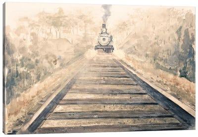 Railway Bound Canvas Art Print