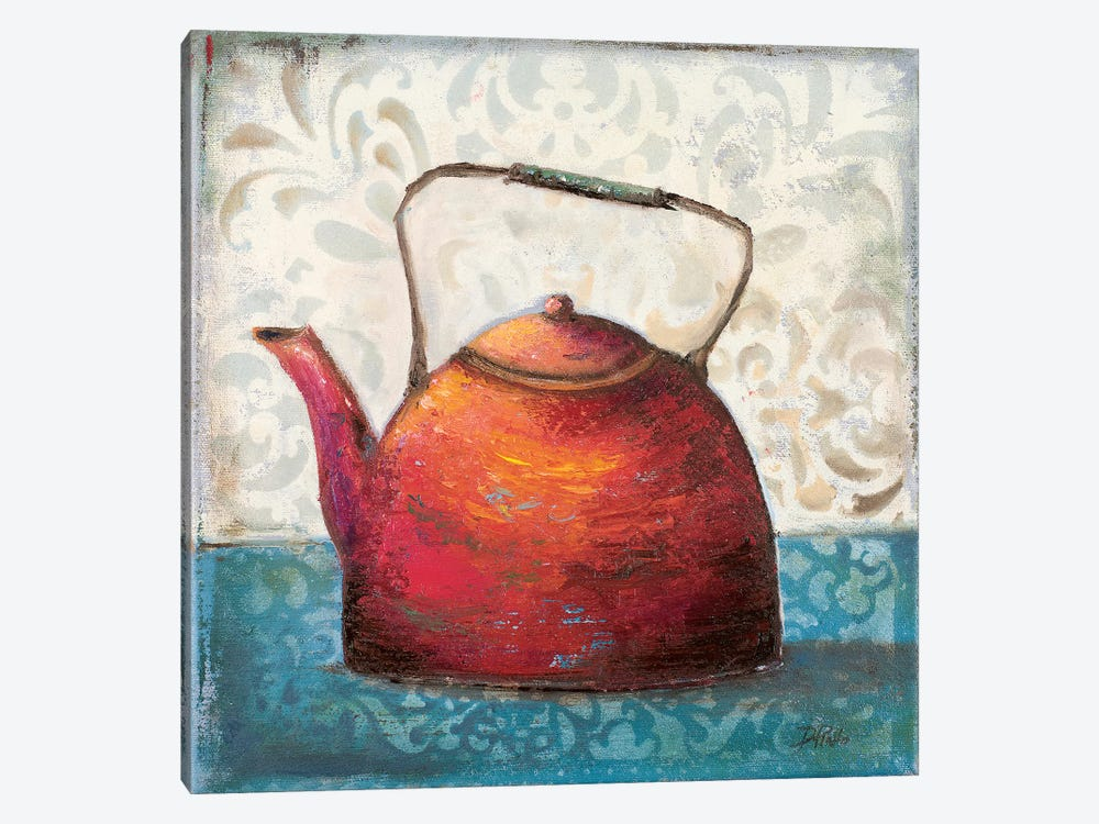 Red Pots I 1-piece Canvas Artwork