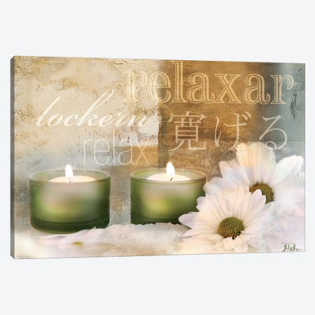 Relaxation I Canvas Print #PPI257} by Patricia Pinto Canvas Wall Art