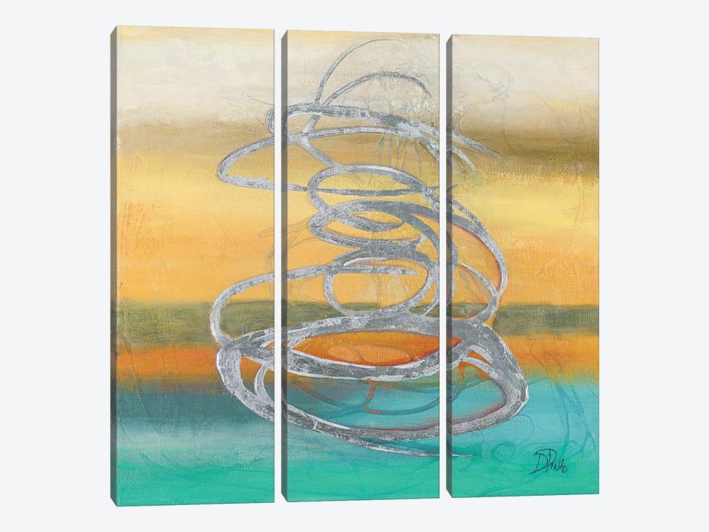 Runaway II by Patricia Pinto 3-piece Canvas Artwork