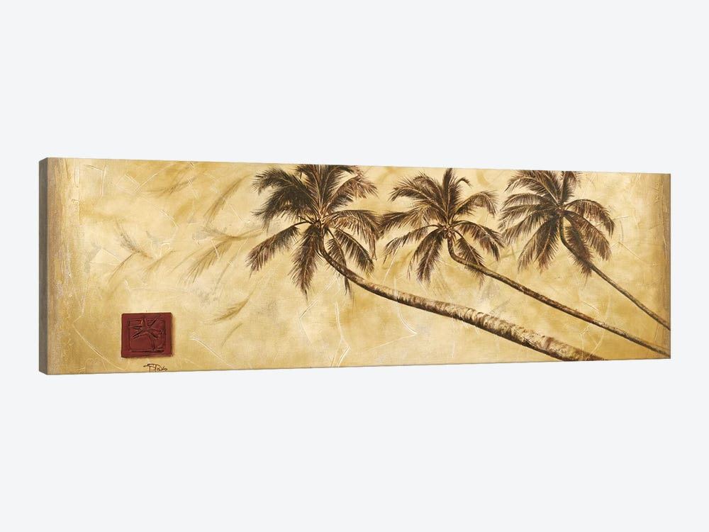 Sepia Palms by Patricia Pinto 1-piece Canvas Art