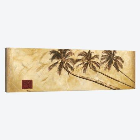 Sepia Palms Canvas Print #PPI266} by Patricia Pinto Canvas Print