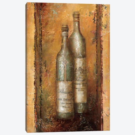 Serie Vino I Canvas Print #PPI269} by Patricia Pinto Canvas Art