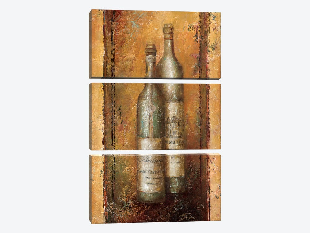 Serie Vino I 3-piece Canvas Print