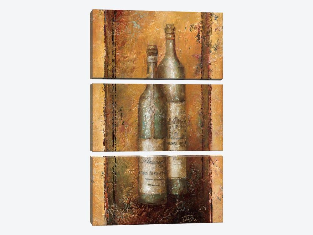Serie Vino I by Patricia Pinto 3-piece Canvas Print